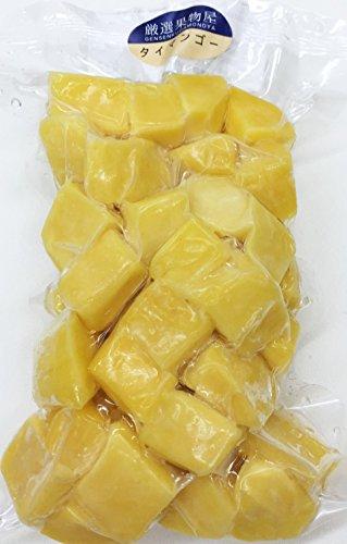 冷凍マンゴー(タイまたはペルー産) 250g 【消費税込み】完熟マンゴー をダイスカットしています。