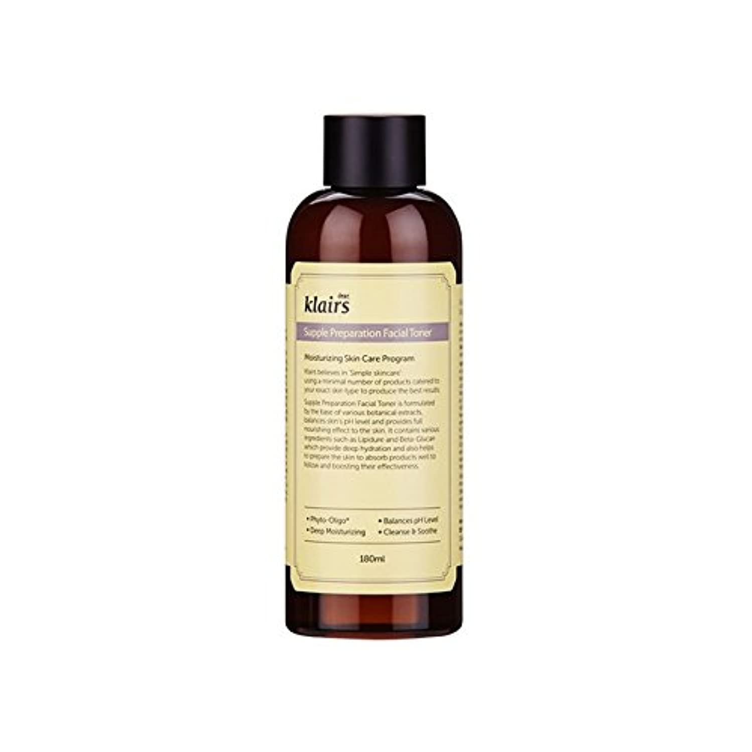 純粋な苦行第四KLAIRS Supple Preparationフェイシャルトナー180 ml(KLAIRS Supple Preparation Facial Toner 180 ml) [並行輸入品]