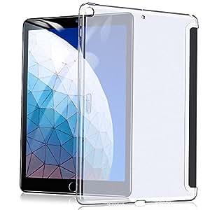 ESR iPad Air 2019 ケース iPad Air3 10.5インチ PCバックカバー クリア スリム 軽量 Apple Smart Cover&Smart Keyboardに対応 2019年版 iPad 10.5インチ専用カバー(クリア)