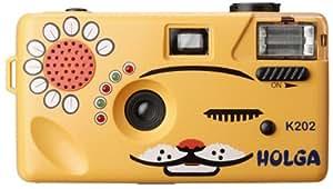 【にゃーにゃーHOLGA】いろんな音が出るからあのコ(猫)の視線もくぎづけ ホルガブランドにして35mmフィルム仕様、フラッシュ搭載だから使いやすい。(PowerShovel)