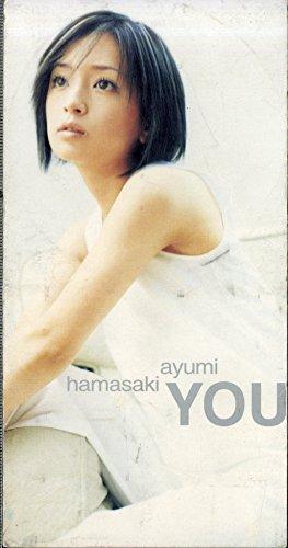 浜崎あゆみのシングル「YOU」の歌詞ページ♪音楽映像を検索してみるの画像