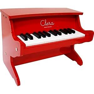 Clera クレラ トイピアノ MP1000-25K/RD レッド