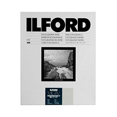 ILFORD 白黒印画紙 MGIV RC 44M 5X7 大カビネ 100枚 1771019