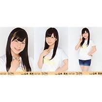 HKT48 公式生写真 アリーナツアー 会場限定 【山本茉央】 3枚コンプ