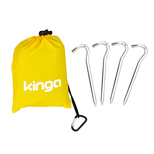 KINGA コンパクトレジャーシート ポケットブランケット レインコート ピクニックマット 防水 軽量 170cm*140cm