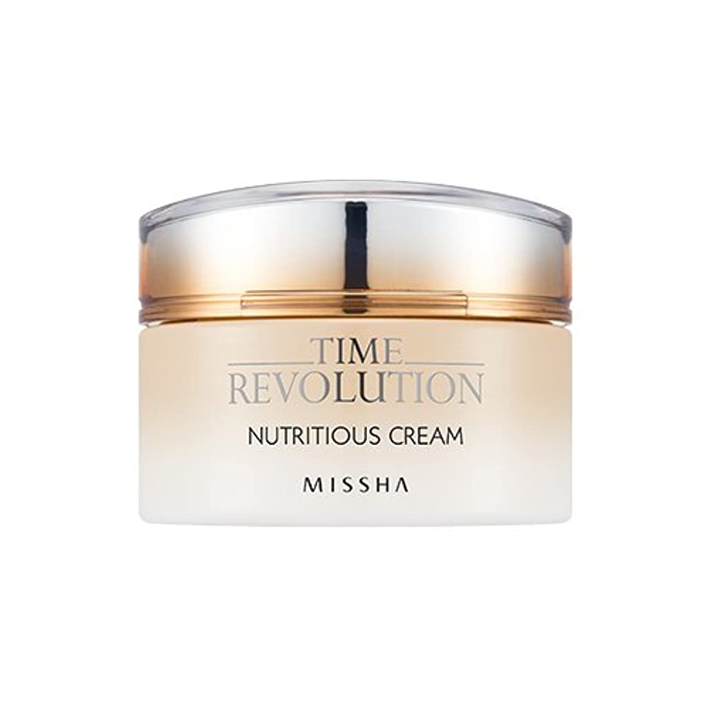 エスカレートハードウェア最小[New] MISSHA Time Revolution Nutritious Cream 50ml/ミシャ タイム レボリューション ニュートリシャス クリーム 50ml [並行輸入品]