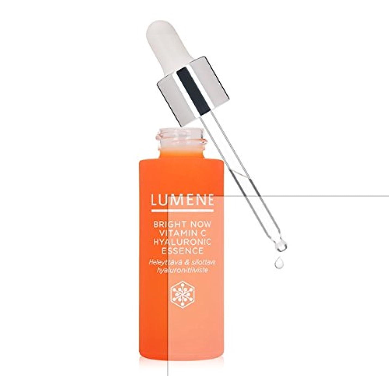 バランス建築家上昇Lumene Bright Now Vitamin C Hyaluronic Essence (1 fl oz.) 美容液 [並行輸入品]