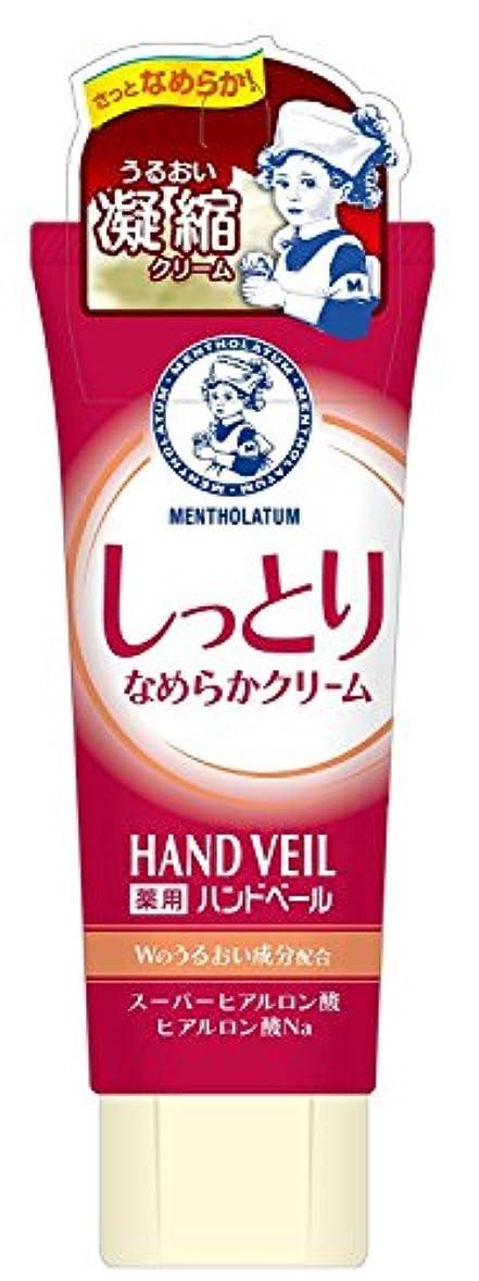 請う豊かにする篭メンソレータム 薬用ハンドベール しっとりなめらかクリーム 70gチューブ