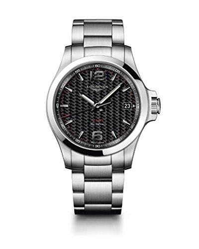 [ロンジン]LONGINES 腕時計 コンクエスト V.H.P. クォーツ パーペチュアルカレンダー L3.716.4.66.6 メンズ 【正規輸入品】