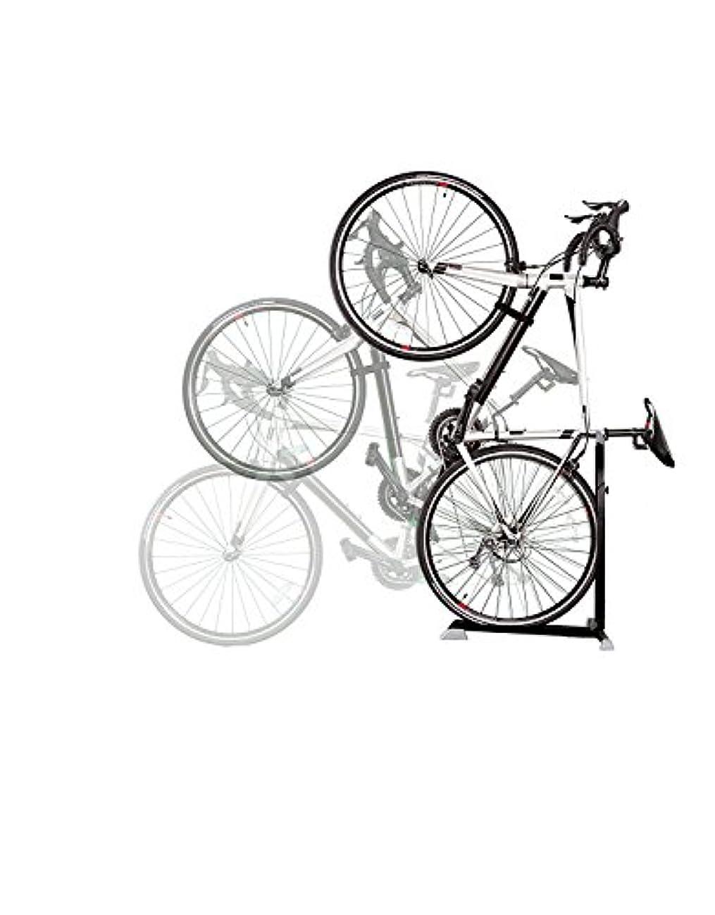 教印をつけるマーケティングNinoLite 自転車スタンド B106 日本市場向け 室内外用縦置き ガレージ 玄関 お部屋 ベランダ設置等 スペース節約 簡単組立て 日本語取り扱い説明書付き