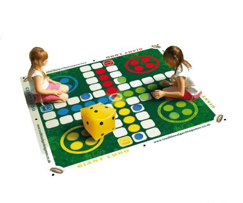Traditional Garden Games Giant Ludo by Traditional Garden Games