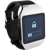 ボイスレコーダー MP3 プレーヤー 腕時計 型 動画 Bluetooth イヤホン 対応 (シルバー)