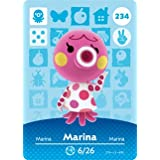 Marina - Nintendo Animal Crossing Happy Home Designer Amiibo Card - 234