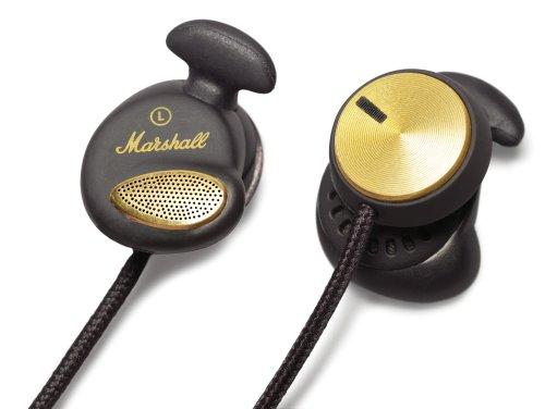 Marshall Minor Headphone マーシャル マイナー インナーイヤー型ヘッドフォン 黒 [並行輸入品]