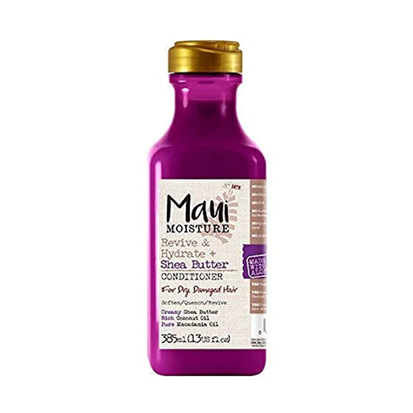 調子ゲートウェイスキャンダラス[Maui Moisture ] マウイ水分がシアバターコンディショナーを復活&ハイドレート - Maui Moisture Revive & Hydrate Shea Butter Conditioner [並行輸入品]