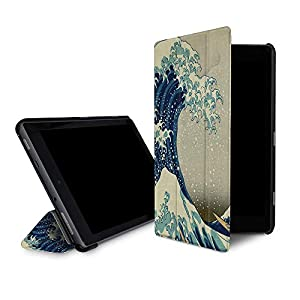 【Fire HD 10 (第7世代)用カバー】caseable by Great Wave off Kanagawa by Hokusai