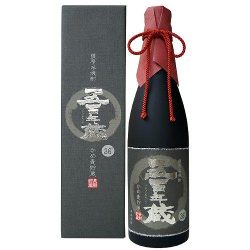 田苑 五百年蔵 原酒 芋 瓶 36度 720ml