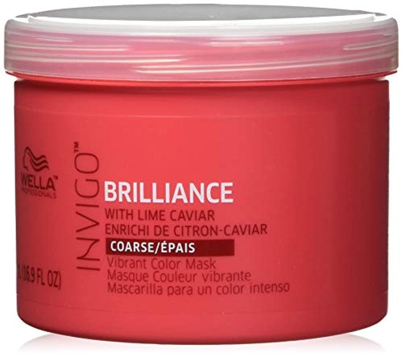 アクチュエータ扇動する山Invigo Brilliance Mask For Coarse Hair