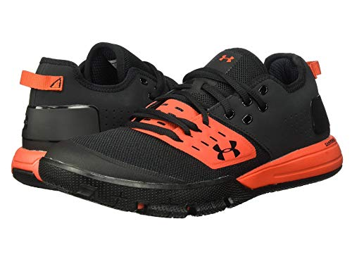[UNDER ARMOUR(アンダーアーマー)] メンズランニングシューズ・スニーカー・靴 UA Charged Ultimate 3.0 Black/Radio Red/Black 9 (27cm) D - Medium