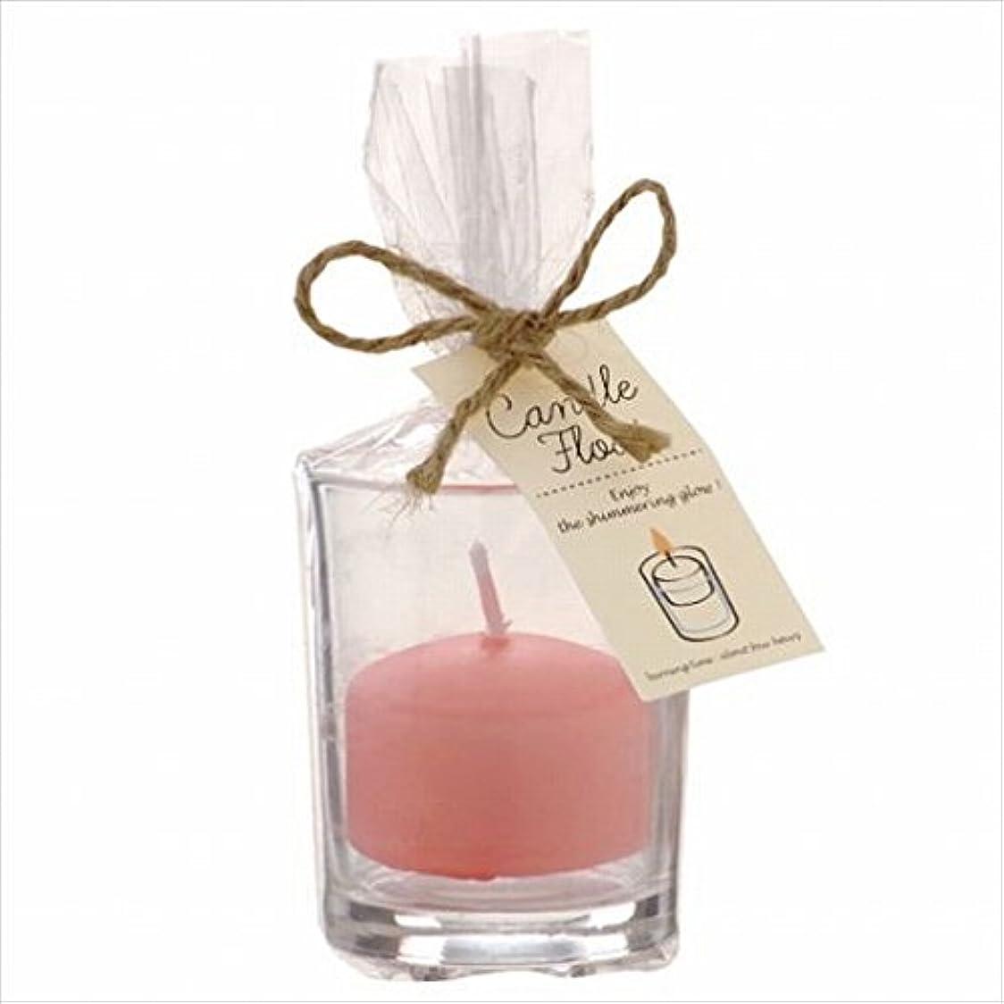 高層ビル愛情餌カメヤマキャンドル(kameyama candle) キャンドルフロート 「 ピーチアンバ 」