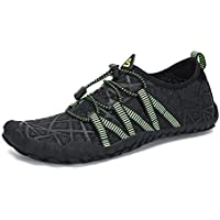 SAGUARO Mens Minimalist Barefoot Water Shoes Beach Walking Gym Trail Aqua Sports