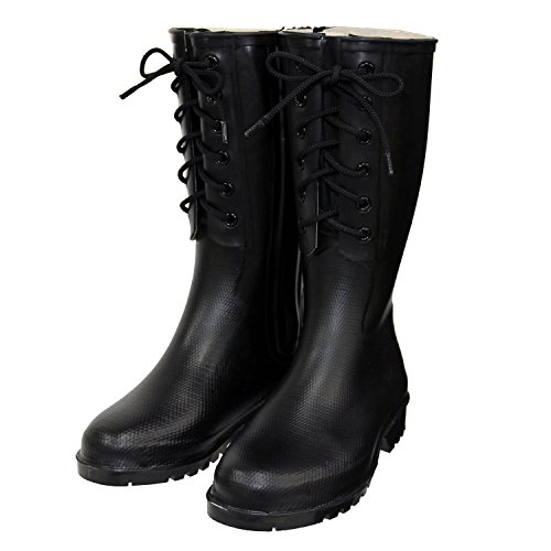 DU301 Bosai Boots (Long)/DU301 防災ブーツ(ロング) (23, ブラック)