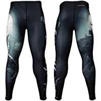 Btoperform Lycanthrope Full Graphic Compression Leggings FY-126 (XL)