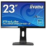 iiyama モニター ディスプレイ XUB2390HS-B3 (23インチ/フルHD/AH-IPS/HDMI,D-sub,DVI-D/昇降/ピボット/3年保証)