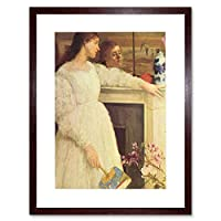 Painting Whistler Symphony White Number Two Framed Wall Art Print