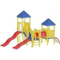 ノーブランド品 1/150-1/200 ドールハウス アクセサリー 児童 施設 建物モデル 人形の家 贈り物 全2パタン - 1:150-1:200, 6.5センチメートル* 3.9センチメートル