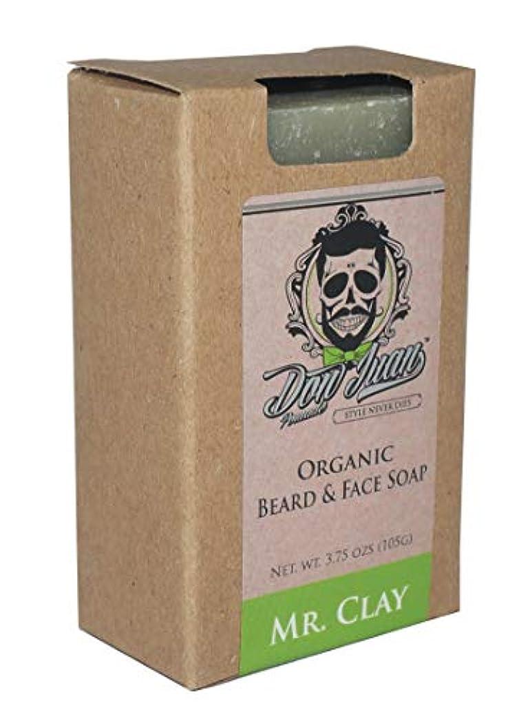 ボウリング批評技術Don Juan Mr. Clay Organic Beard Face Soap Bar 3.75 Oz. by Don Juan