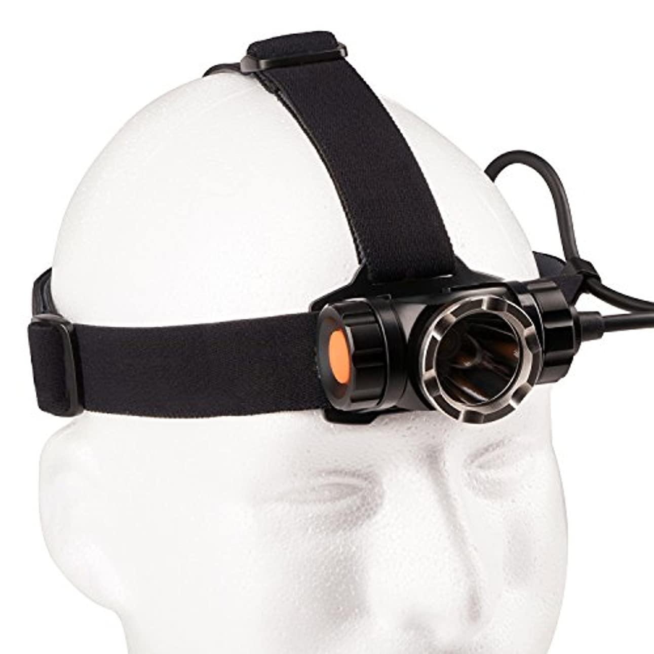 私達天才つばGuard Dog 1200 Lumen Head Lamp w/7 Functions - Waterproof [並行輸入品]
