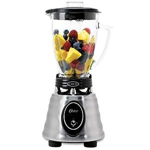 オスターブレンダー 6カップ ガラスジャー ステンレス  Oster BPCT02  6-Cup Glass Jar 2-Speed Toggle Beehive Blender, Stainless Steel【並行輸入品】