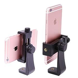 Balckcase スマートフォン用ホルダー スマホスタンド  三脚アクセサリー  iPhone7 plus まで対応可能