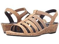 Vaneli(ヴァネリ) レディース 女性用 シューズ 靴 サンダル Darena - Natural Cork/Match Elastic 11 M (B) [並行輸入品]