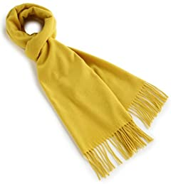 Cashmere Scarf 1336-343-2728: Yellow