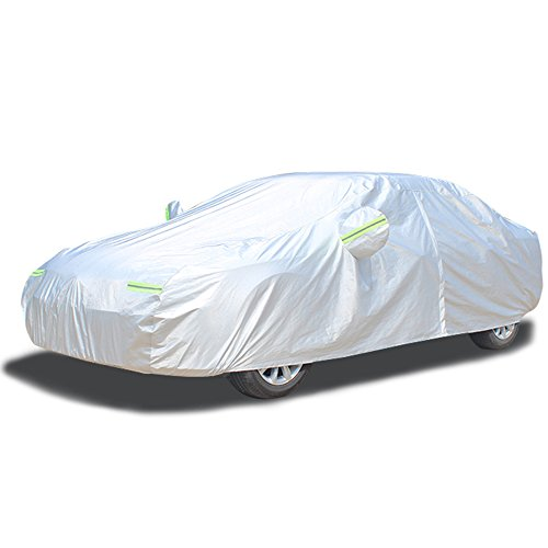 LINFEN ボディカバー カーカバー 車 3層構造 裏起毛タイプ 防水防塵防輻...
