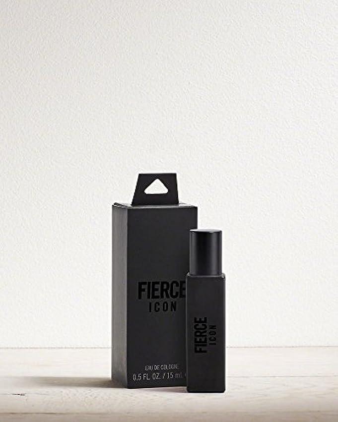 落ち着かないロシア迷路Abercrombie & Fitch FIERCE ICON (フィアース アイコン) 0.5 oz (15ml) Cologne Mini (ミニ) for Men