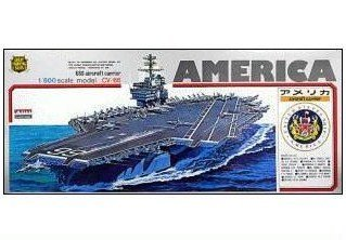 1/800 戦艦 空母 No.11 空母 アメリカ