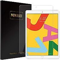 Nimaso iPad 10.2 インチ (第七世代) 用 フィルム 強化ガラス 液晶保護フィルム