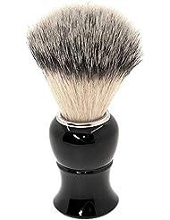 あごひげケア 美容ツール シェービング ブラシ 泡立ち アナグマ 毛 理容 洗顔 髭剃り マッサージ 効果