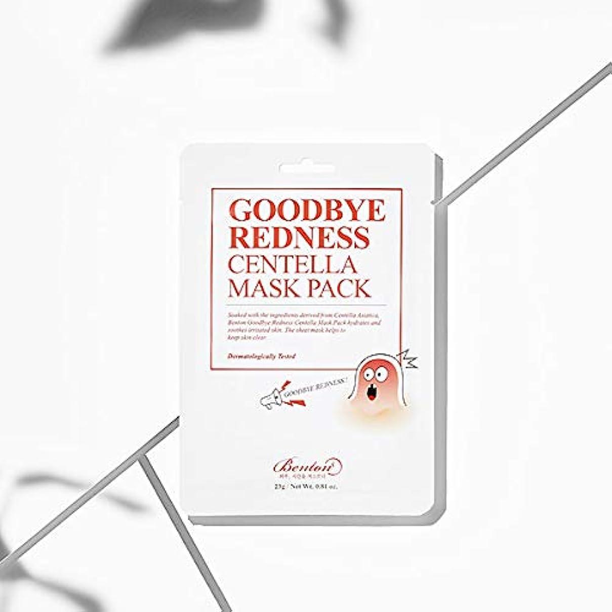 イデオロギー寝てる回路[Benton] Goodbye Redness Centella Mask Pack (* 10 sheets)/ [ベントン]センテラマスクパック(10枚) [並行輸入品]