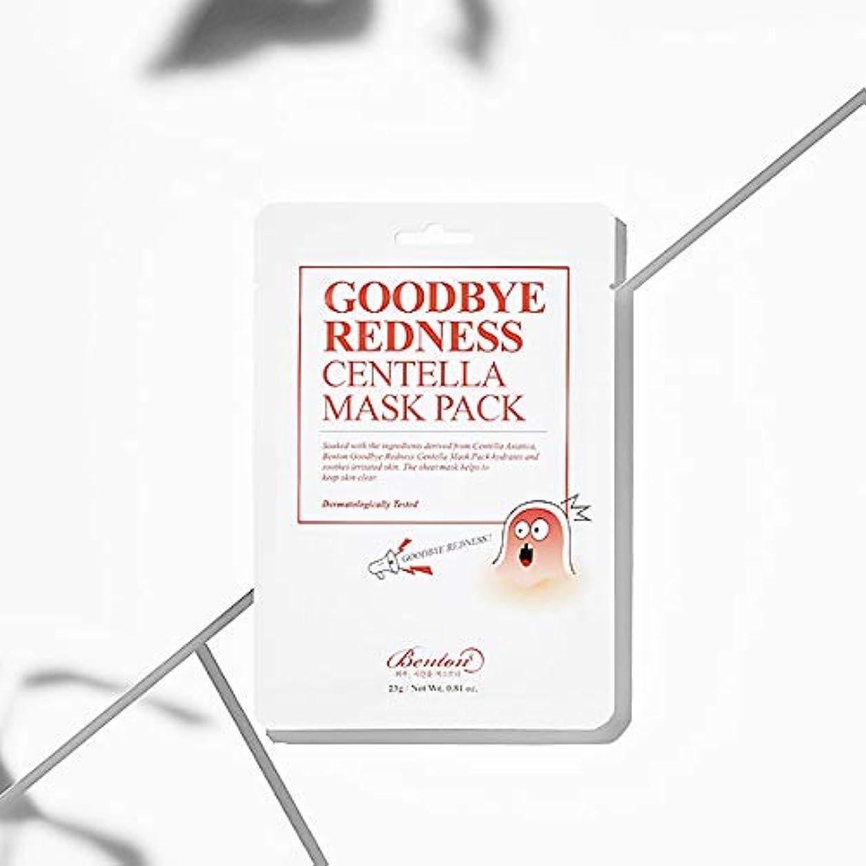 秀でる一貫性のない苦悩[Benton] Goodbye Redness Centella Mask Pack (* 10 sheets)/ [ベントン]センテラマスクパック(10枚) [並行輸入品]
