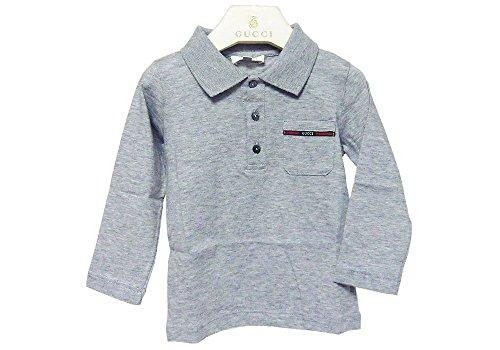 e25a2f3482f7 グッチ GUCCI アパレル 347629-1676 コットン100% 長袖 ポロシャツ 子供服 / ベビーシャツ