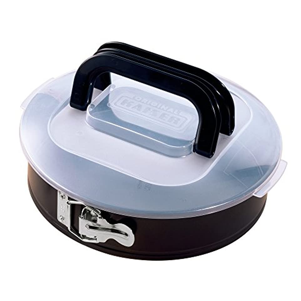 鉄リレー余剰Kaiser Bake&Take 750316 Springform Cake Tin 26 cm with Transportation Lid by Kaiser