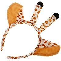 Kesoto ヘッドピース キュートな キリンの耳 デザイン 子供 素晴らしい 贈り物 パーティー ヘアアクセサリー
