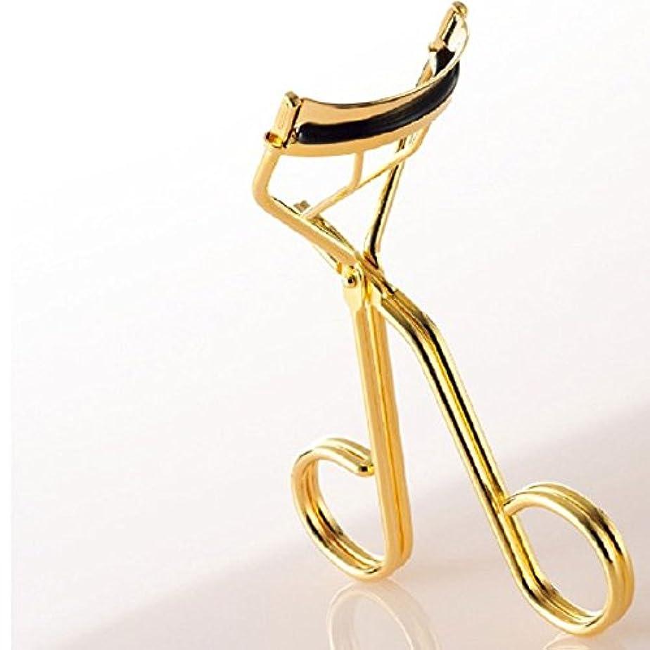 サイトライン長椅子裁定沼澤製作所 アイラッシュカーラー ゴールド 替えゴム3個&ポーチ付き