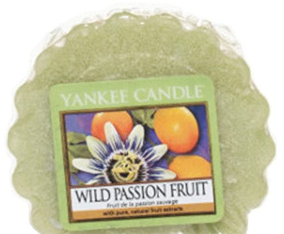 木製仕事に行く革命的Yankee Candle YankeeワックスMelt ( Wild Passion Fruit )