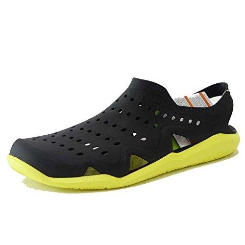 crocs クロックス スウィフトウォーター ウェーブ メン 203963 0DW(ブラック m11...