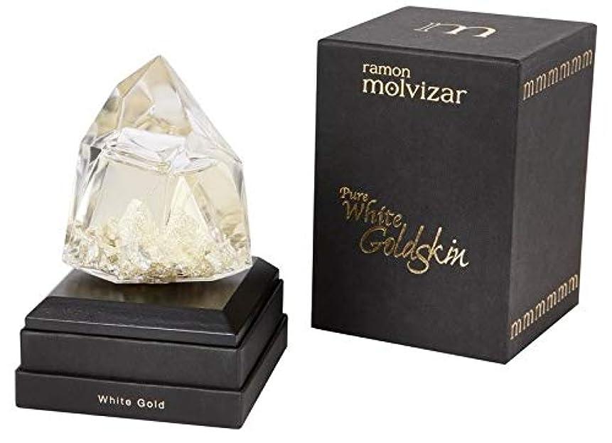 スペシャリスト月曜悲劇Ramon Molvizar Pure White Goldskin Eau de Parfum 2.5 oz./75 ml New in Box